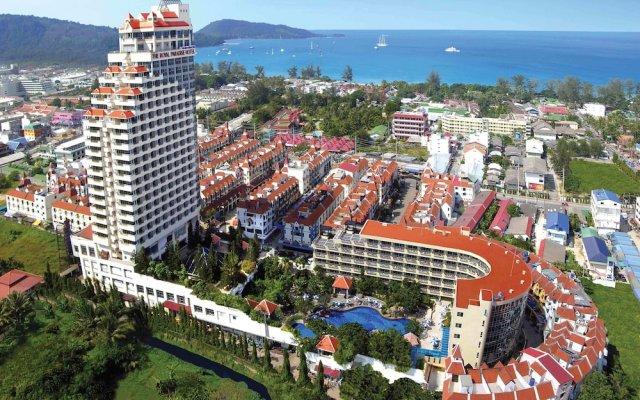 Отель The Royal Paradise Hotel & Spa Таиланд, Пхукет - 4 отзыва об отеле, цены и фото номеров - забронировать отель The Royal Paradise Hotel & Spa онлайн спортивное сооружение