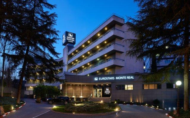 Hotel Eurostars Monte Real вид на фасад