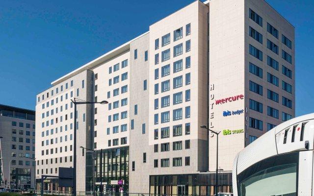 Отель Mercure Lyon Part Dieu Франция, Лион - 2 отзыва об отеле, цены и фото номеров - забронировать отель Mercure Lyon Part Dieu онлайн вид на фасад