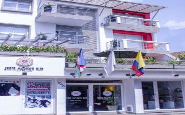 Отель Santa Monica Alta Hotel Boutique Колумбия, Кали - отзывы, цены и фото номеров - забронировать отель Santa Monica Alta Hotel Boutique онлайн вид на фасад