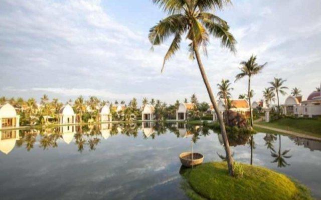 Отель Pulchra Resort Вьетнам, Дананг - отзывы, цены и фото номеров - забронировать отель Pulchra Resort онлайн приотельная территория