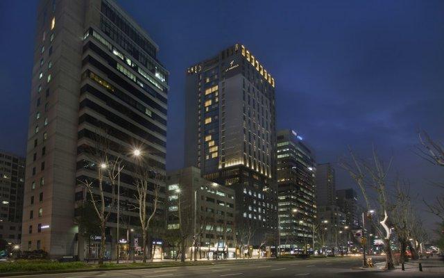 Отель L7 Gangnam By Lotte вид на фасад