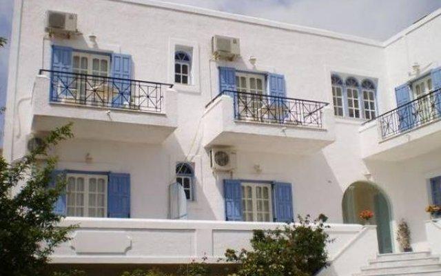 Отель Barbara II вид на фасад