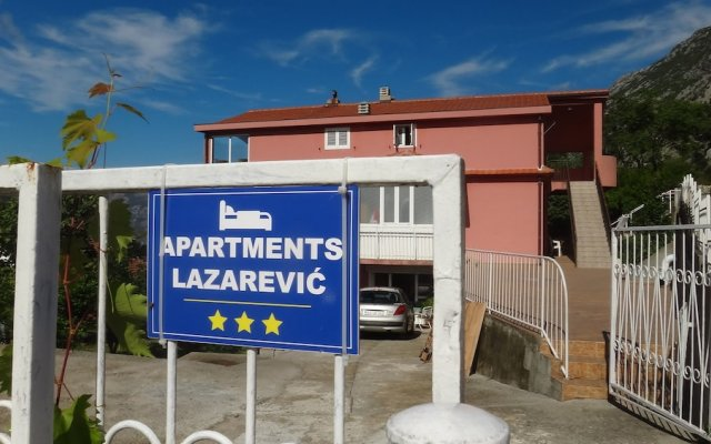 Апартаменты Apartments Lazarevic вид на фасад