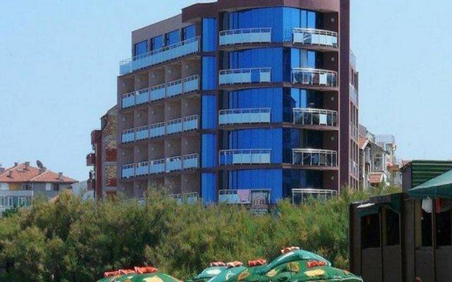 Hotel Sunny Bay Поморие вид на фасад