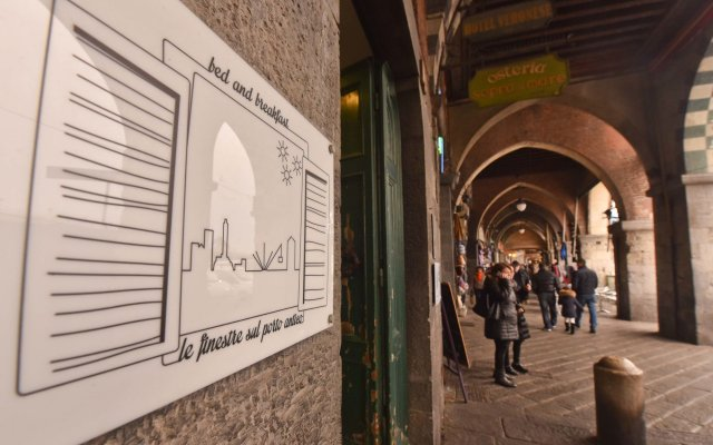 Отель Le Finestre sul Porto Antico Италия, Генуя - отзывы, цены и фото номеров - забронировать отель Le Finestre sul Porto Antico онлайн вид на фасад