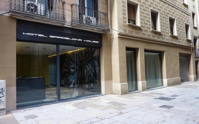 Hotel Barcelona House вид на фасад