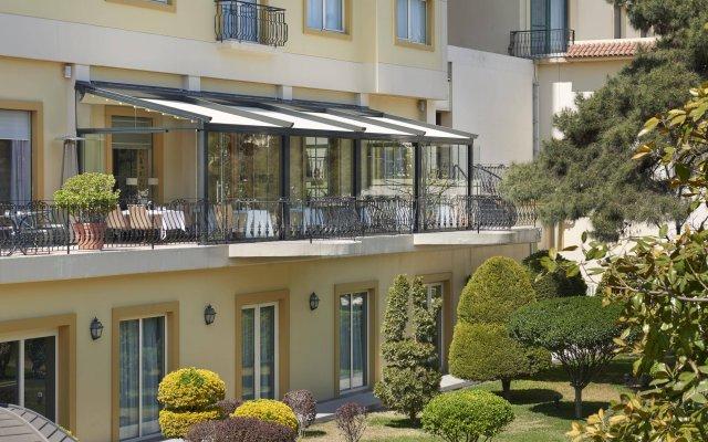 Отель Hyatt Regency Baku Азербайджан, Баку - 7 отзывов об отеле, цены и фото номеров - забронировать отель Hyatt Regency Baku онлайн вид на фасад