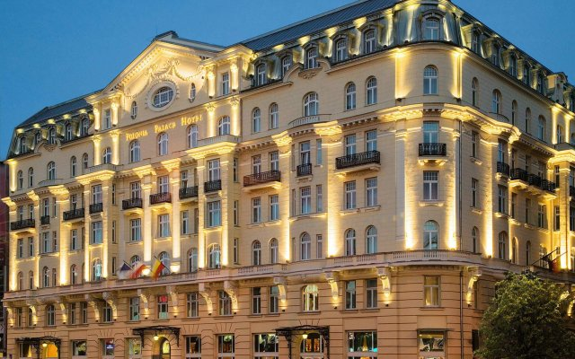 Отель Polonia Palace Варшава вид на фасад