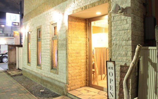 Отель Tokyo Backpackers Токио вид на фасад