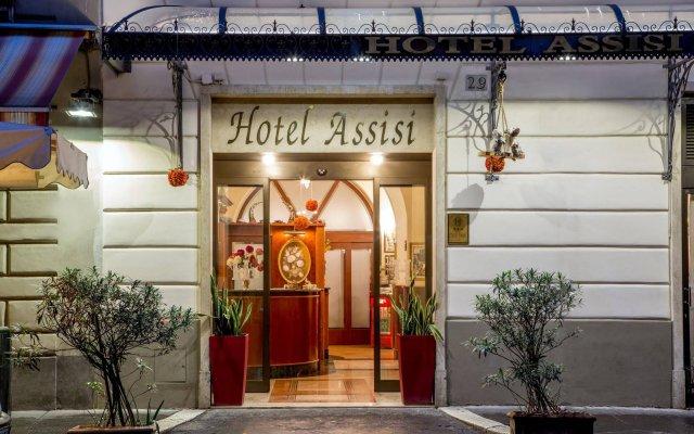 Hotel Assisi вид на фасад