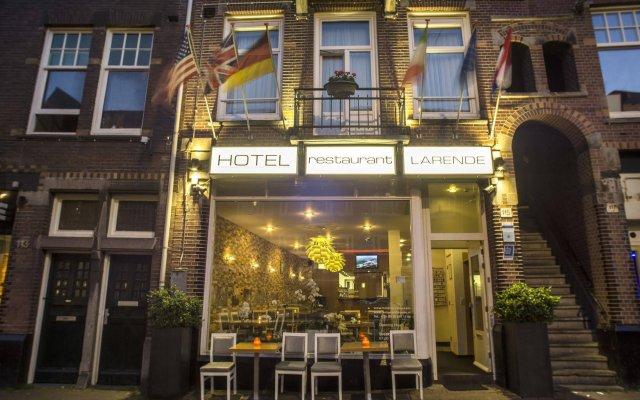 Отель Larende Нидерланды, Амстердам - 1 отзыв об отеле, цены и фото номеров - забронировать отель Larende онлайн вид на фасад