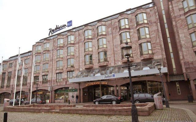 Отель Radisson Blu Scandinavia Hotel Швеция, Гётеборг - отзывы, цены и фото номеров - забронировать отель Radisson Blu Scandinavia Hotel онлайн вид на фасад