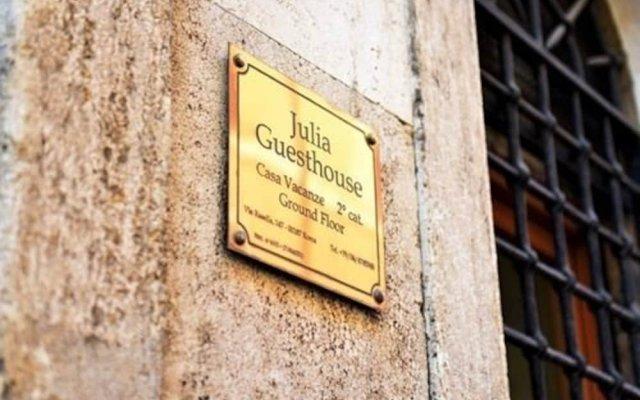 Отель Julia Guesthouse Италия, Рим - отзывы, цены и фото номеров - забронировать отель Julia Guesthouse онлайн вид на фасад
