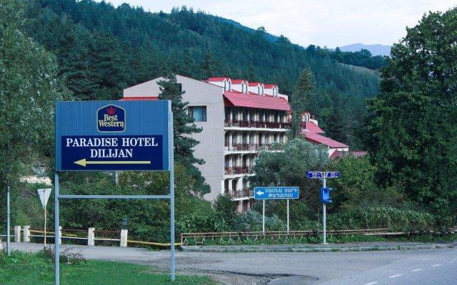 Отель Best Western Plus Paradise Hotel Дилижан