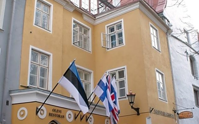 Отель Olevi Residents вид на фасад