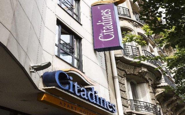 Отель Citadines Republique Paris вид на фасад