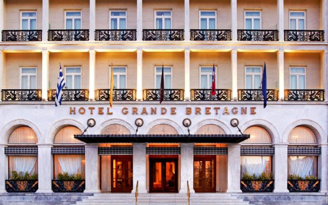 Hotel Grande Bretagne, a Luxury Collection Hotel, Athens вид на фасад