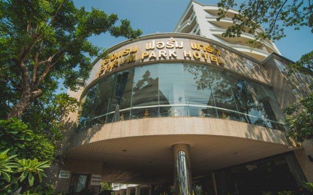 Отель Forum Park Бангкок вид на фасад