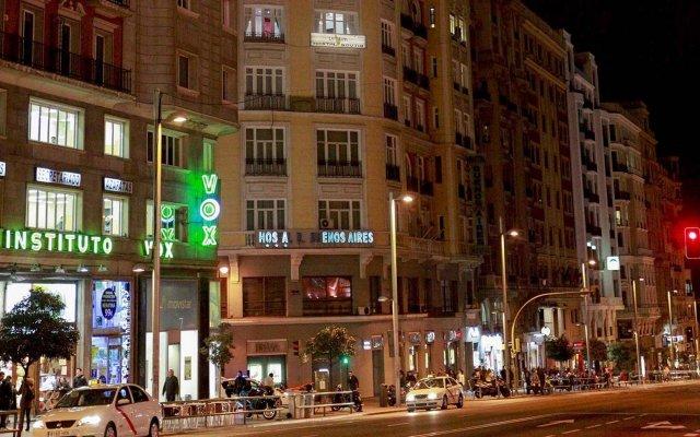 Отель Vitium Urban Suites вид на фасад
