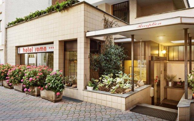 Отель Roma Италия, Аоста - отзывы, цены и фото номеров - забронировать отель Roma онлайн вид на фасад