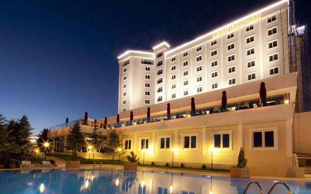 Ikbal Thermal Hotel & SPA Afyon вид на фасад