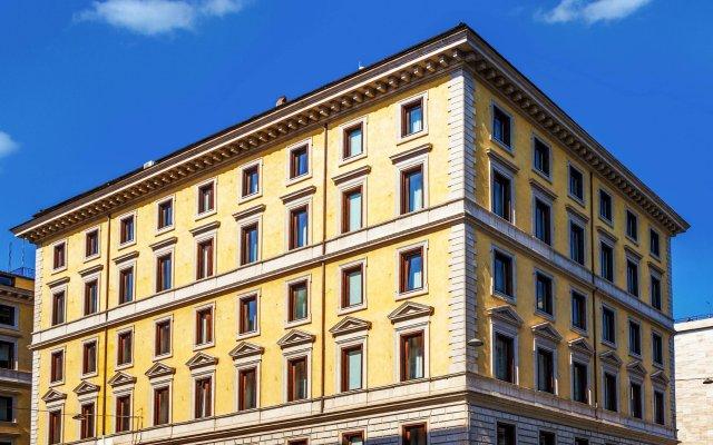 Gioberti Art Hotel вид на фасад