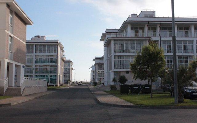 Апартаменты Apartment on Bulvar Nadezhd 4-1, ap. 102 вид на фасад