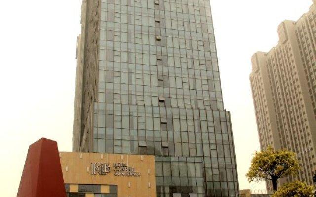 Hotel Conrab (Ganzhou Wanxiang) вид на фасад