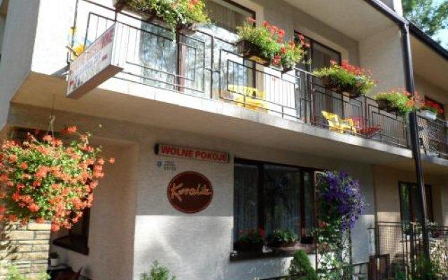 Отель Pokoje Goscinne Koralik Закопане вид на фасад