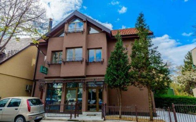 Отель Konak Dedinje Beograd вид на фасад