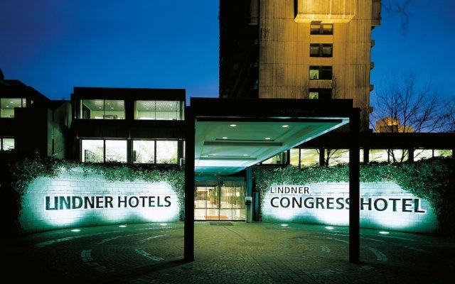 Отель Lindner Congress Hotel Германия, Дюссельдорф - отзывы, цены и фото номеров - забронировать отель Lindner Congress Hotel онлайн вид на фасад