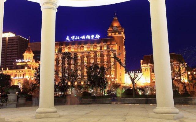 Tianjin Zhengxie Club Hotel вид на фасад