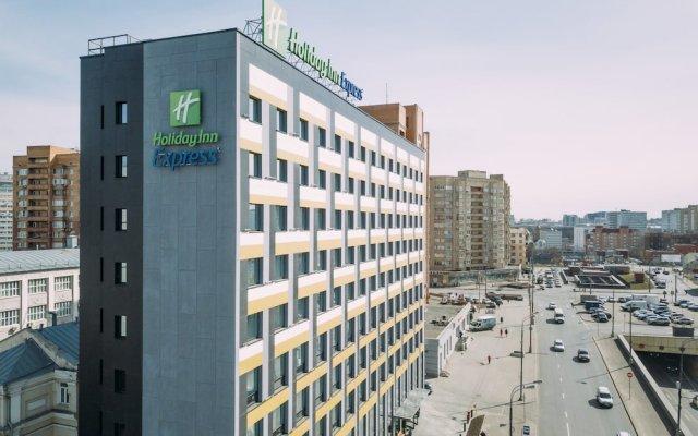 Гостиница Holiday Inn Express Moscow - Baumanskaya вид на фасад