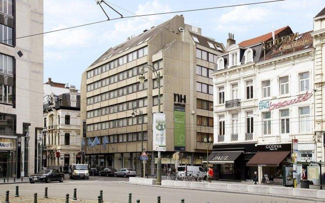 Отель NH Brussels Louise вид на фасад