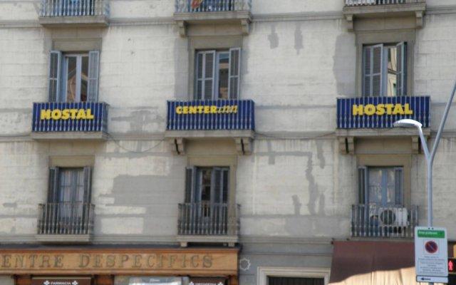Отель Hostal Center Inn вид на фасад