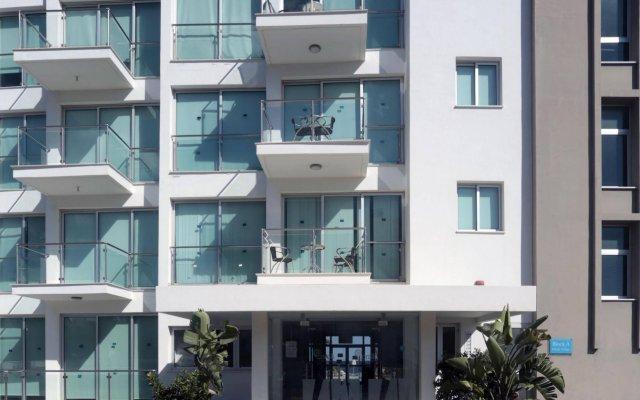 Апартаменты Coralli Spa Протарас вид на фасад