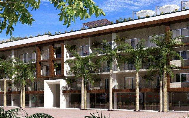 Отель The Palm At Playa Плая-дель-Кармен вид на фасад
