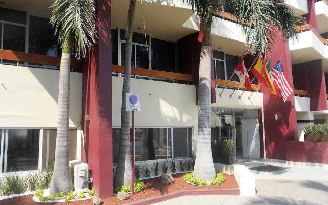 Отель Del Real Hotel & Suites Мексика, Масатлан - отзывы, цены и фото номеров - забронировать отель Del Real Hotel & Suites онлайн вид на фасад