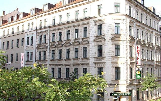 Galerie Hotel Leipziger Hof вид на фасад
