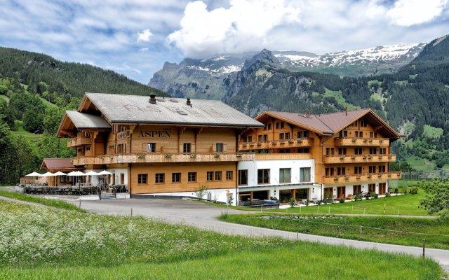 Отель Aspen Alpine Lifestyle Hotel Швейцария, Гриндельвальд - отзывы, цены и фото номеров - забронировать отель Aspen Alpine Lifestyle Hotel онлайн вид на фасад