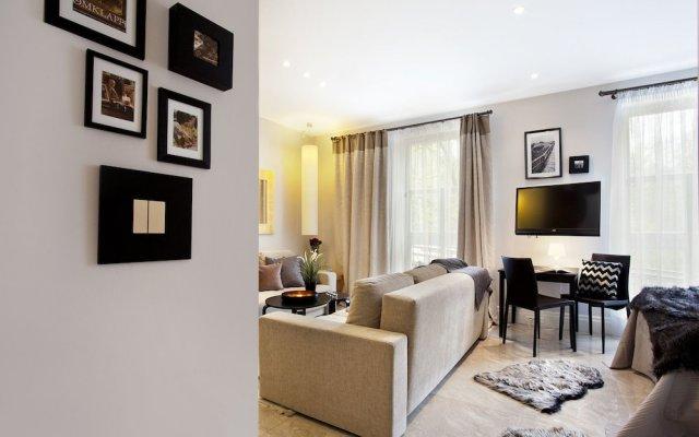 Отель Floryda Sopockie Apartamenty Сопот комната для гостей