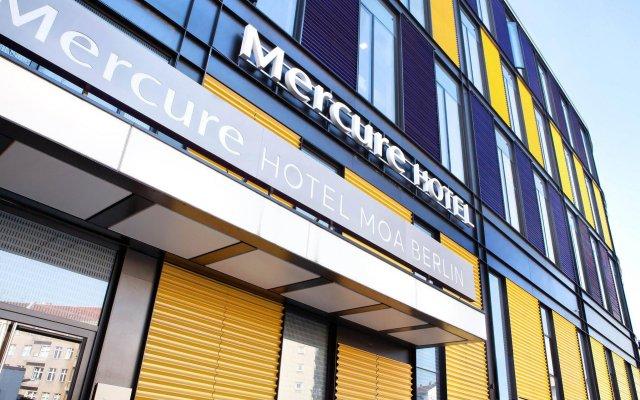 Mercure Hotel MOA Berlin вид на фасад