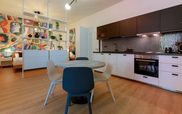 Отель Avantgarde apartments Чехия, Пльзень - отзывы, цены и фото номеров - забронировать отель Avantgarde apartments онлайн в номере