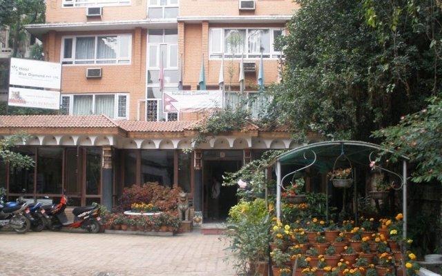 Отель Blue Diamond Непал, Катманду - отзывы, цены и фото номеров - забронировать отель Blue Diamond онлайн вид на фасад