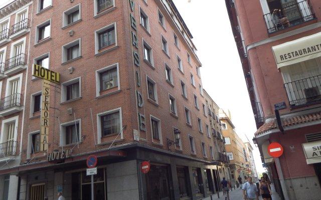 Отель Señorial Испания, Мадрид - 5 отзывов об отеле, цены и фото номеров - забронировать отель Señorial онлайн вид на фасад