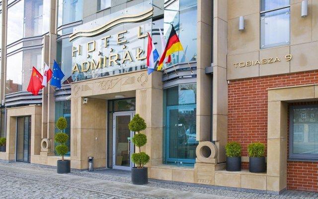 Отель Admirał Польша, Гданьск - 4 отзыва об отеле, цены и фото номеров - забронировать отель Admirał онлайн вид на фасад