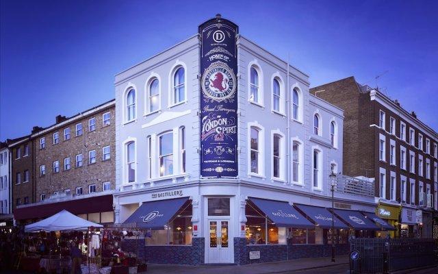 Отель The Distillery Великобритания, Лондон - отзывы, цены и фото номеров - забронировать отель The Distillery онлайн вид на фасад