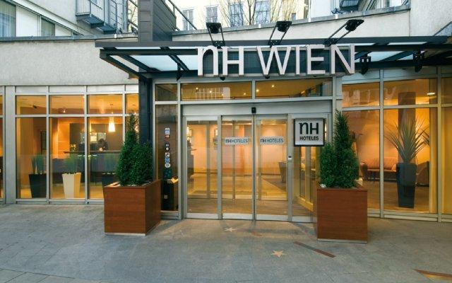 Отель NH Wien City Австрия, Вена - 7 отзывов об отеле, цены и фото номеров - забронировать отель NH Wien City онлайн вид на фасад