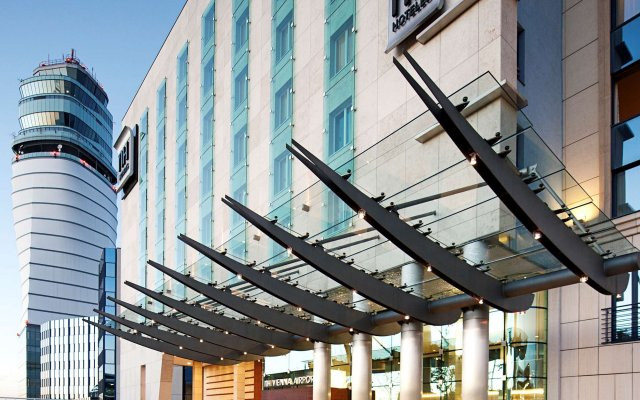 Отель Nh Wien Airport Conference Center Вена вид на фасад